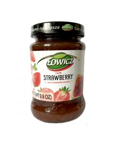 LOWICZ Strawberry Jam low sugar 280g