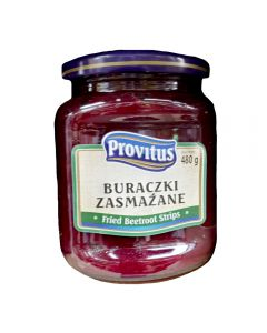 PROVITUS Fried Beetroots Strips 480g
