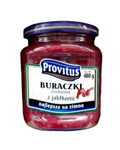 PROVITUS Fried Beetroots with Apples 480g