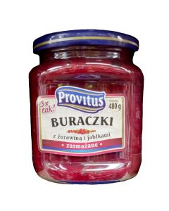 PROVITUS Fried Beetroots with Cranberry and Apples 480g