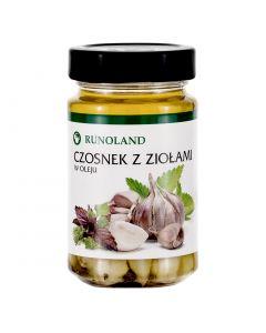 RUNOLAND Garlic with Herbs in Oil 210g