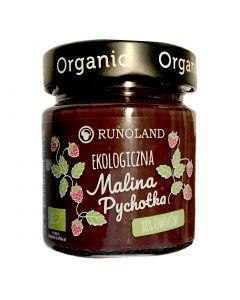 RUNOLAND Organic Raspberry Jam Low Sugar 200g
