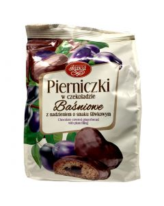 SKAWA Chocolate Covered Gingerbread with Plum filling 150g