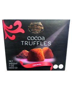 TRUFFETTES DE FRANCE Cocoa Truffles 200g