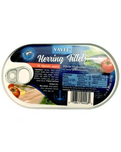 VAVEL Herring Fillets in tomato sauce 170g