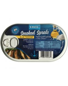 "VAVEL Smoked Sprats in oil ""winter"" 170g"