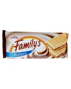 Jutrzenka Familijne Wafle o Smaku Kakaowym 180 g/6.3 oz
