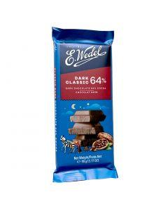 WEDEL Dark Chocolate 64% Cocoa 90g