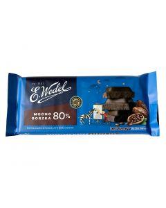 WEDEL Dark Chocolate 80% Cocoa 80g