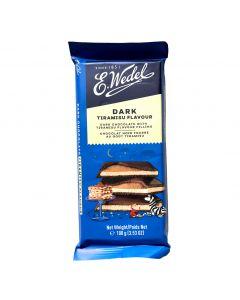 WEDEL Dark Chocolate with Tiramisu Flavor Filling 100g