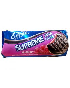 WEDEL Supreme biscuit with raspberry jelly 147g