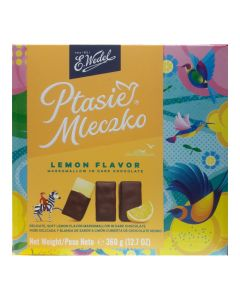 WEDEL Chocolate Covered Lemon Marshmallow 360g