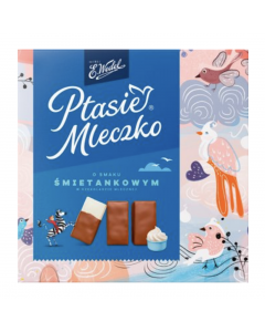 WEDEL Chocolate Covered Cream Marshmallow 360g