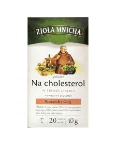 ZIOLA MNICHA Cholesterol Health Tea 20 bags