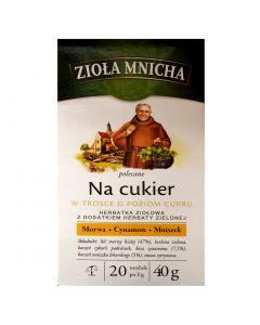 ZIOŁA MNICHA Low Sugar Tea 20 bags